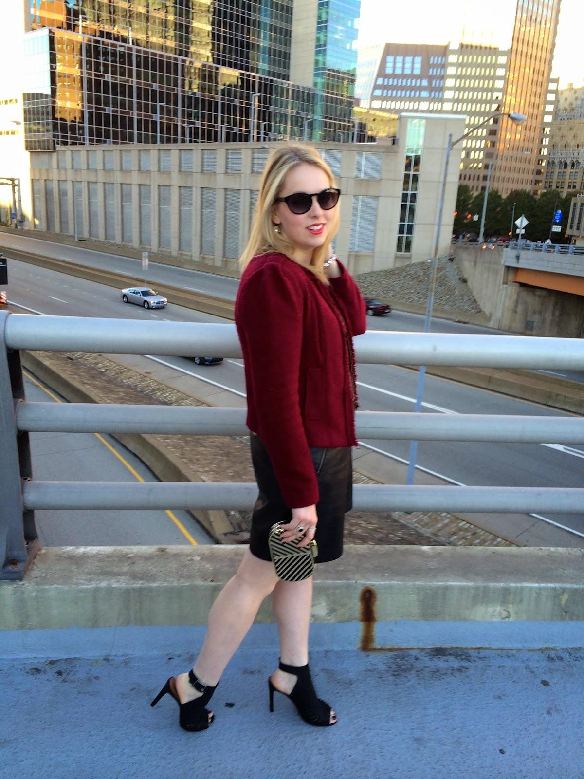 faux-leather-dress
