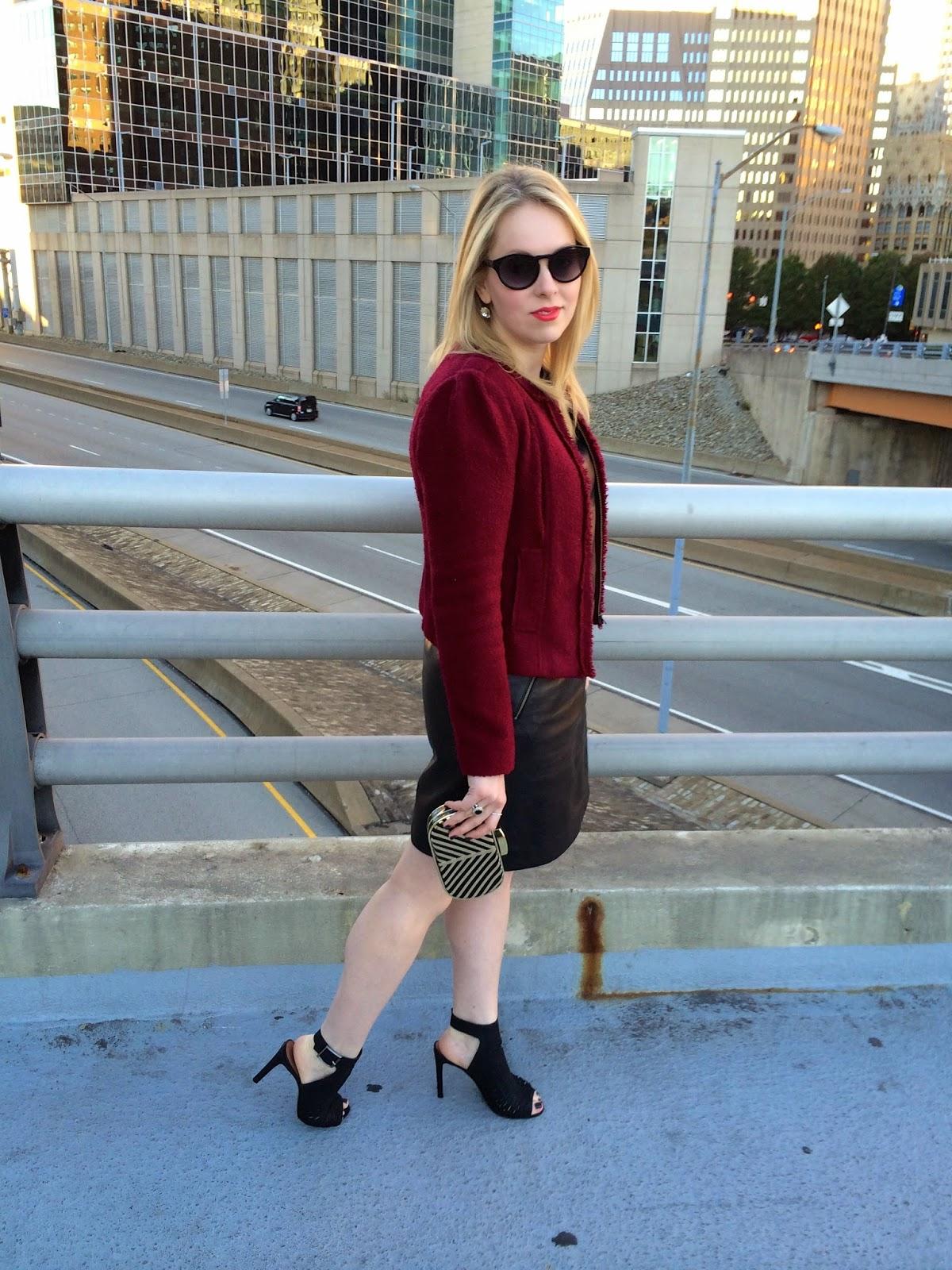 Nordstrom-Halogen-leather-dress