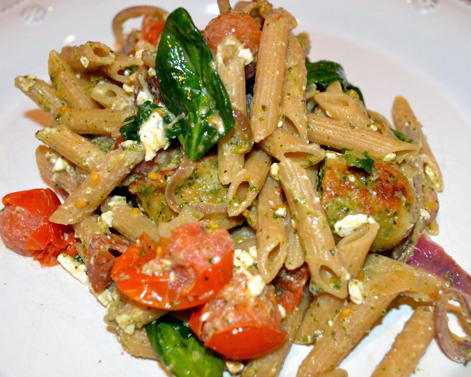 mediterranean-pasta-chicken-sausage