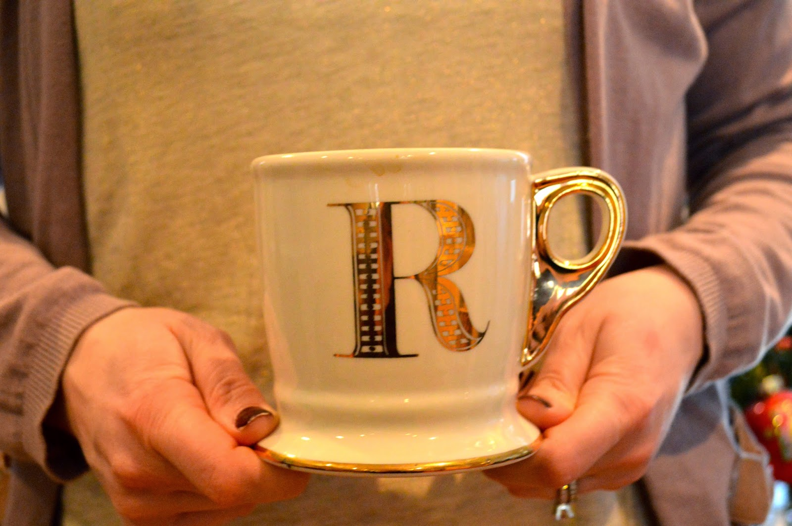 Anthropologie-initial-mug
