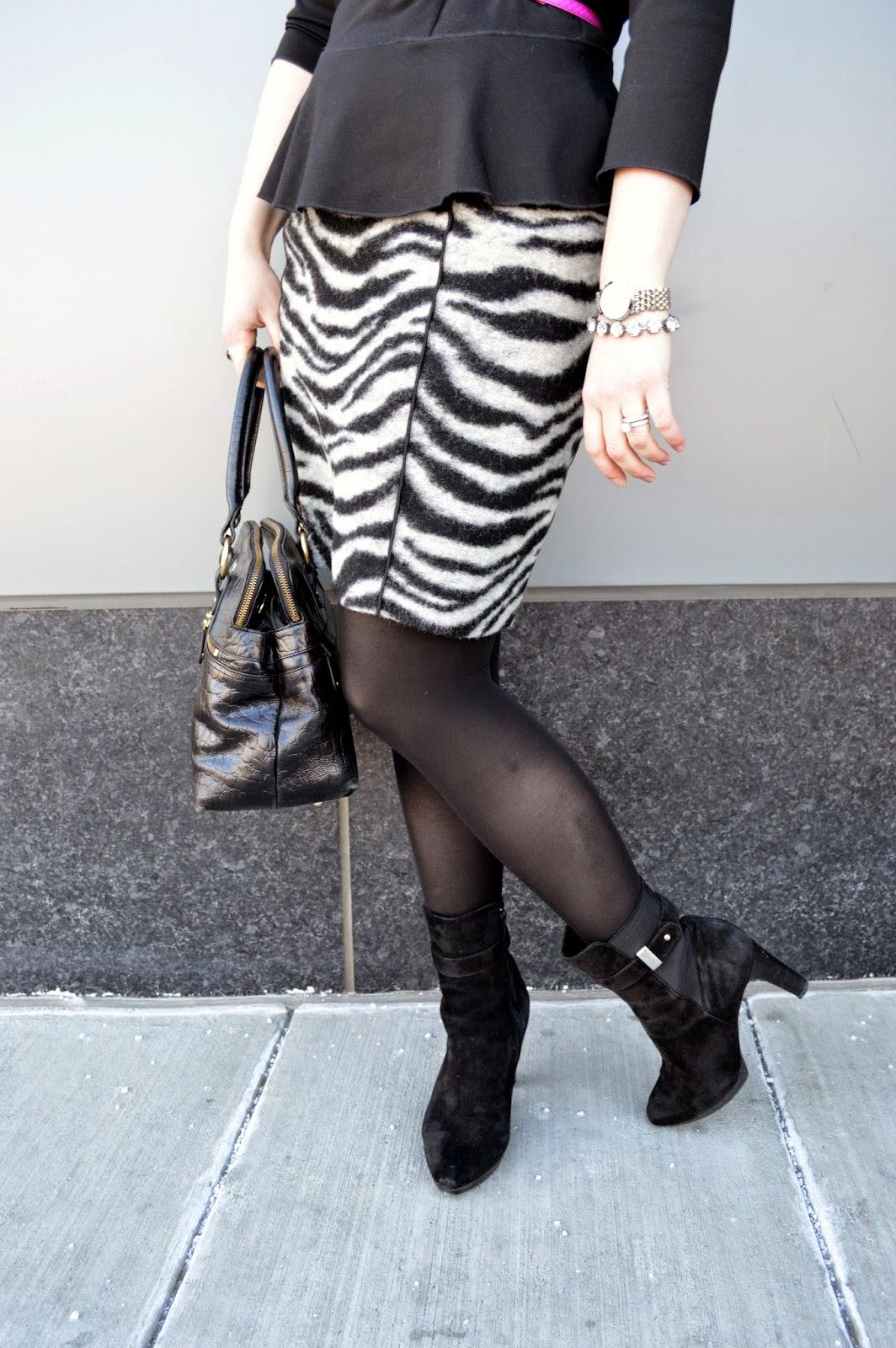 zebra-print-skirt