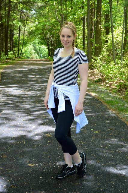 stripe-workout-shirt
