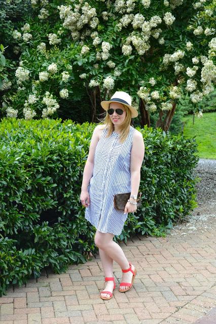 blue-and-white-stripe-dress