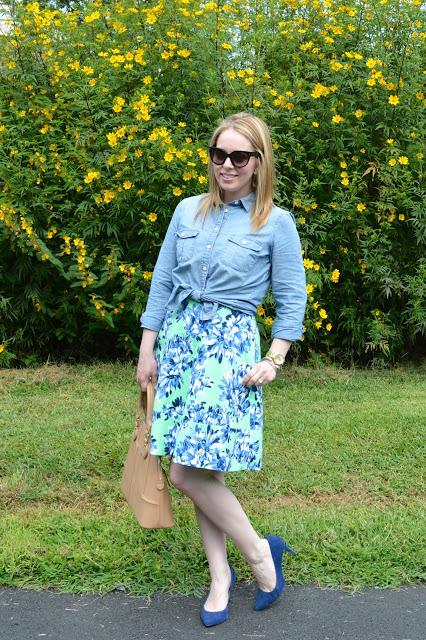 floral-dress-chambray