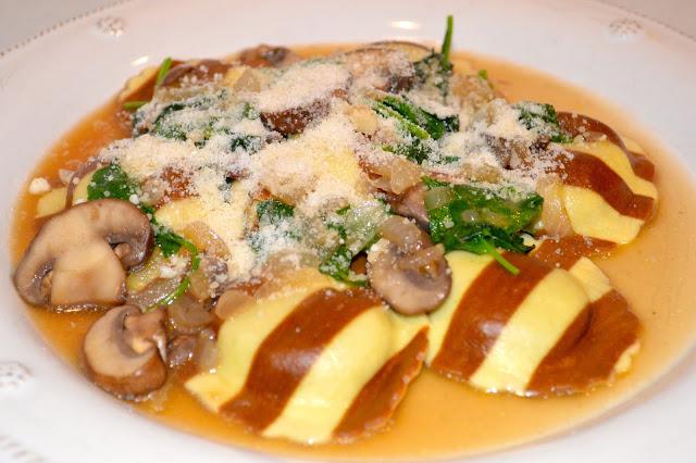 mushroom-ravioli-marsala-sauce