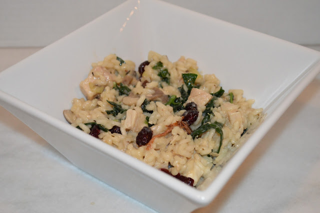 kale-cranberry-turkey-risotto