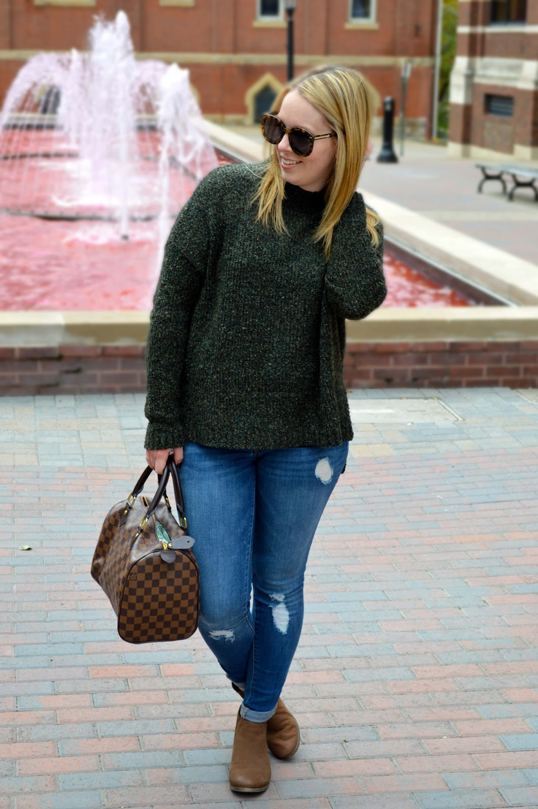cozy fall sweater under $50 - A Blonde's Moment