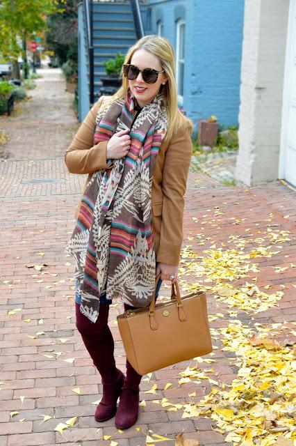 blazer-scarf-outfit