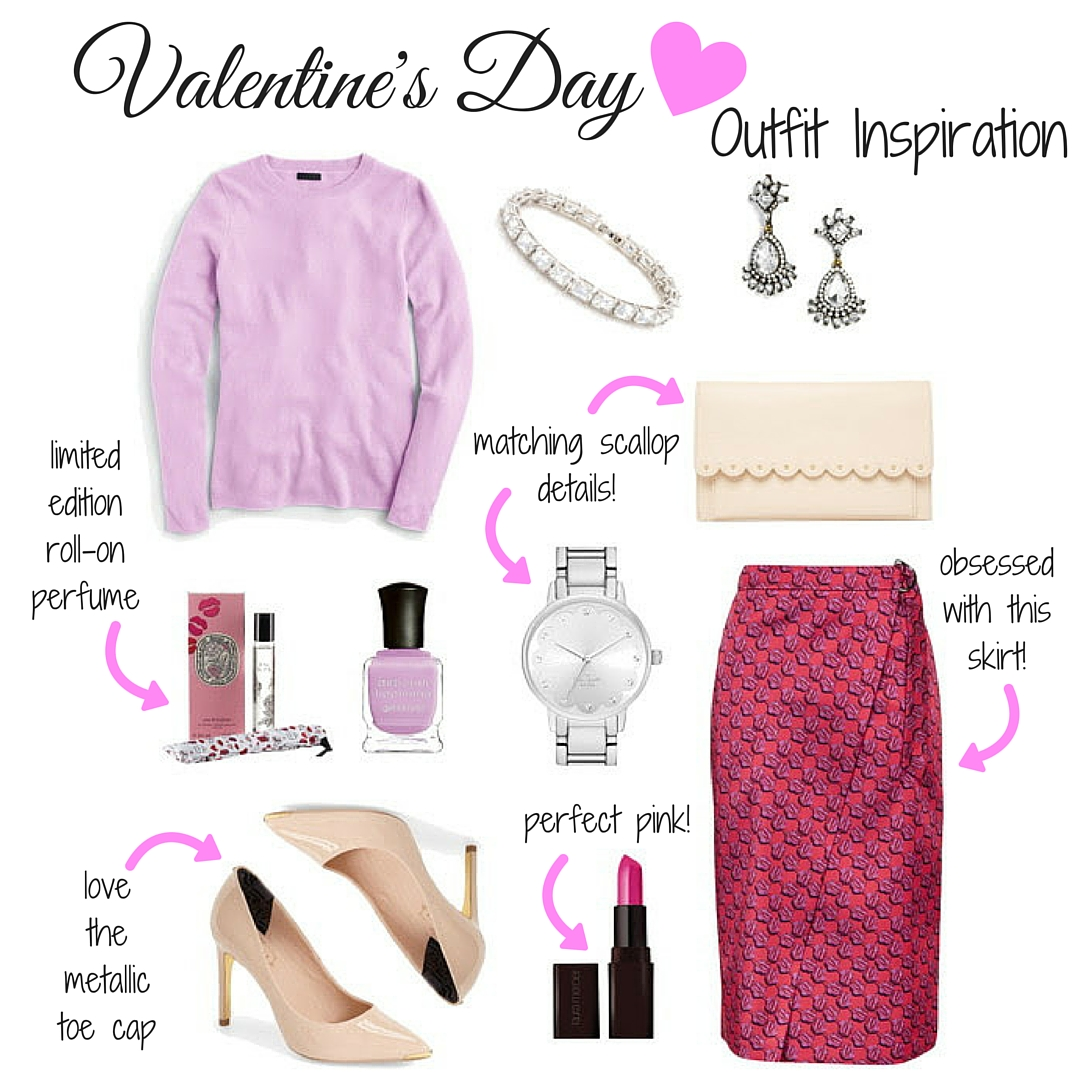 Valentineu0026#39;s Day Outfit Inspiration - A Blondeu0026#39;s Moment