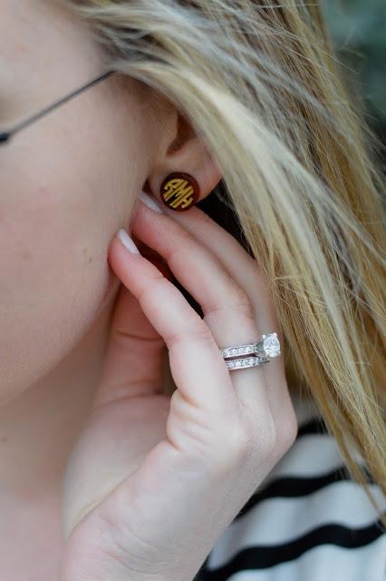 monogrammed-earrings