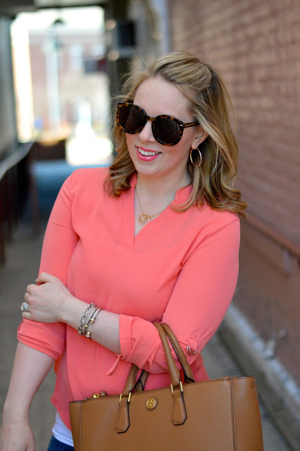 coral-blouse-outfit