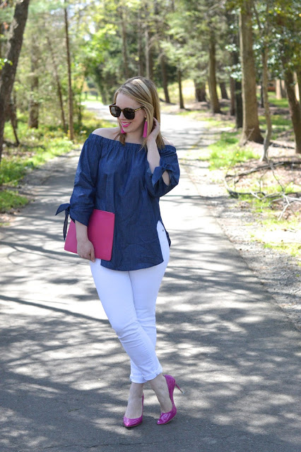 off-the-shoulder-spring-outfit