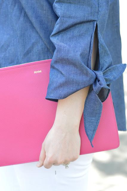 pink-monogram-clutch