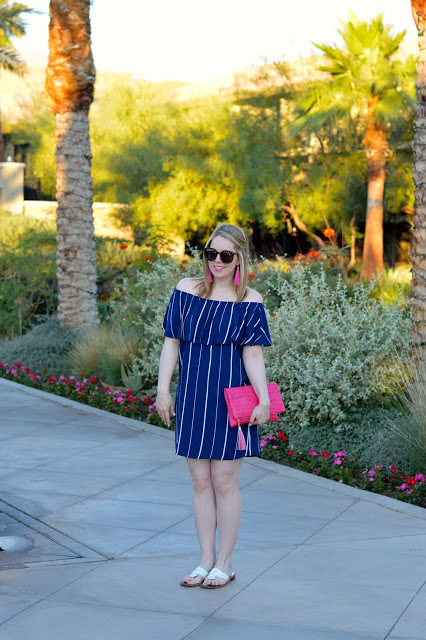 off-the-shoulder-dress-outfit