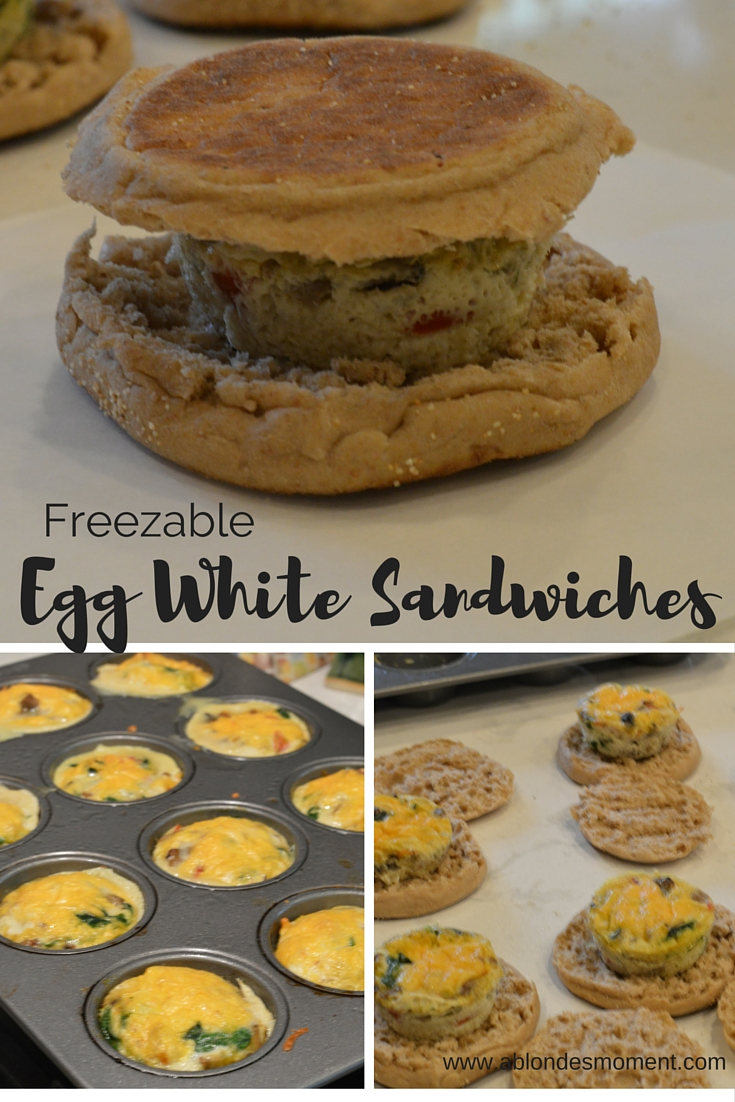 Freezable Egg White Sandwiches A Blonde S Moment