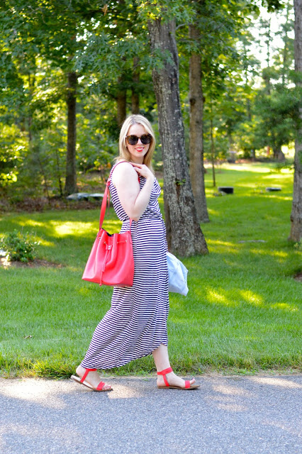 stripe-summer-dress-outfit