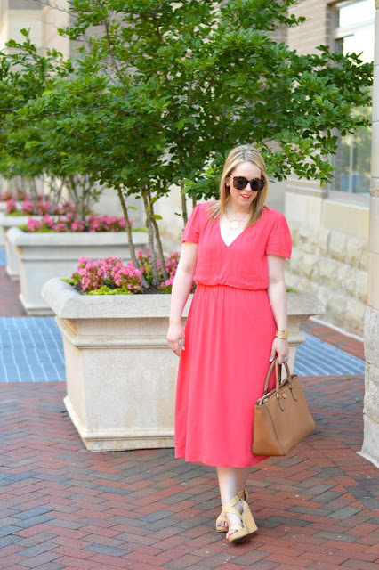 coral-summer-dress