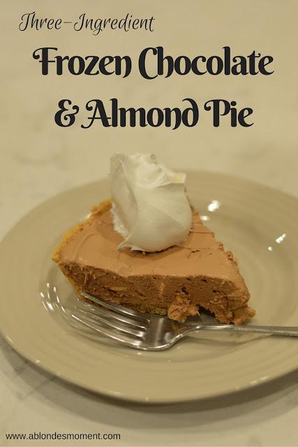 three-ingredient-chocolate-almond-pie