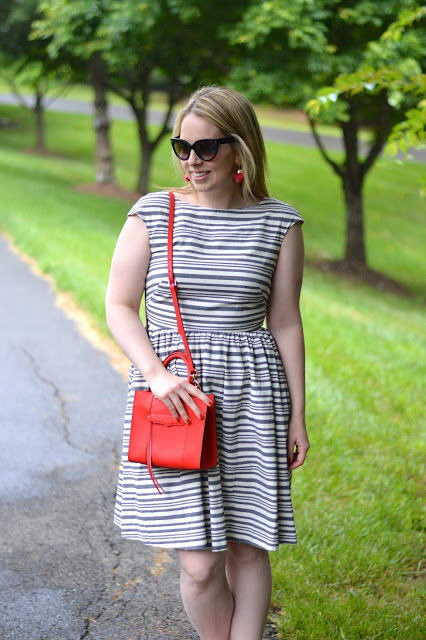 rent-the-runway-stripe-casual-dress