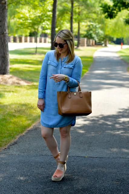 fall-chambray-dress-outfit