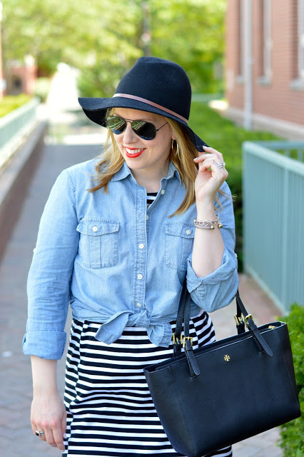 stripes-dress-chambray-outfit