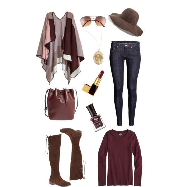 fall-poncho-outfit-inspiration