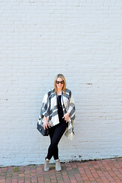 fall-poncho-outfit-ideas