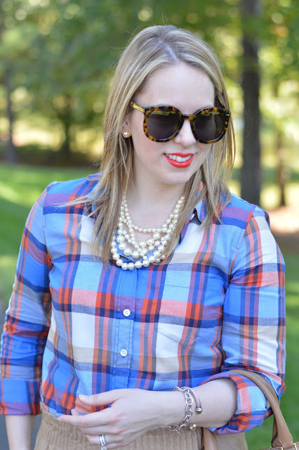 blue-plaid-shirt-outfit