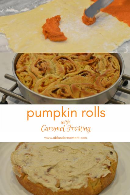 pumpkin-rolls-caramel-frosting
