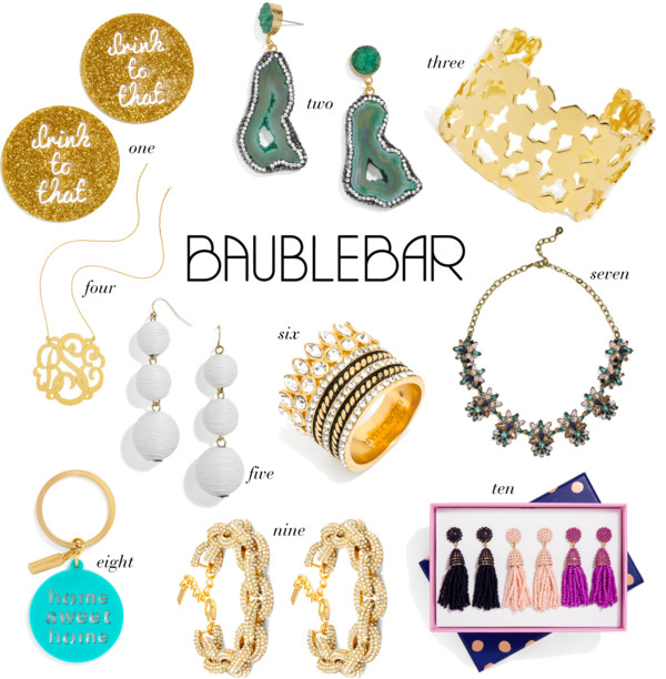 The entry form can be found on the following website at. Winner will be selected by weeny.tk and be notified by email. Winner has 48 hours to respond before a new winner is selected. One (1) winner(s) will receive one (1) $ dollar BaubleBar gift card (approximate retail value or