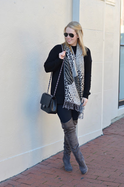 grey-over-the-knee-boots-outfit-idea