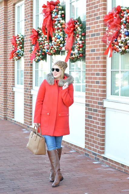 red-j.crew-faux-fur-coat