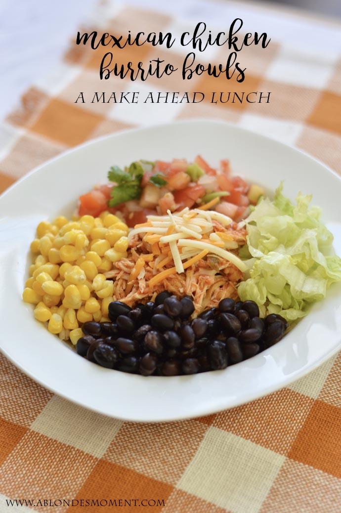 easy mexican chicken burrito bowl recipe crockpot
