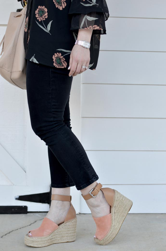 marc fisher espadrille sandals outfit