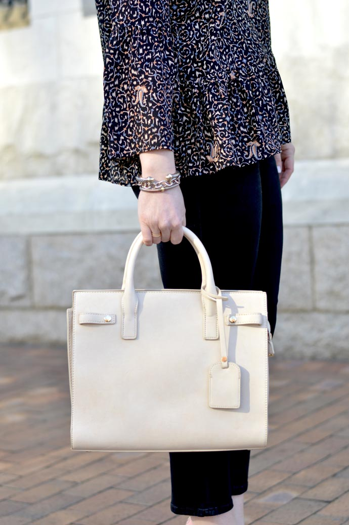 ivory satchel handbag - A Blonde's Moment - @rachmccarthy7