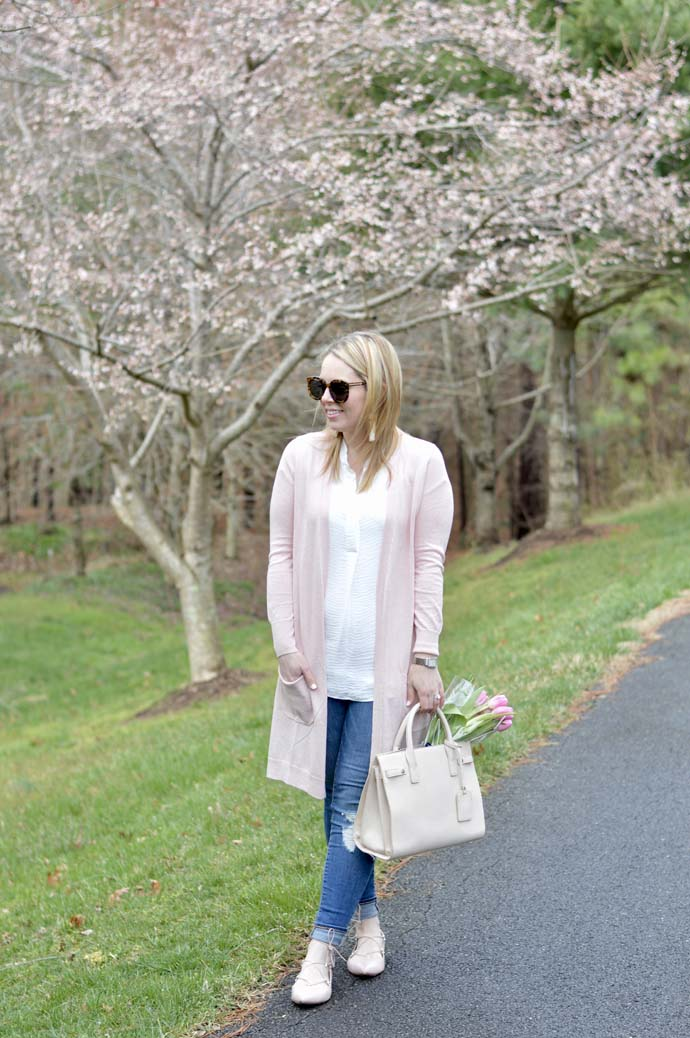 Pink Nordstrom Sweater A Blonde's Moment