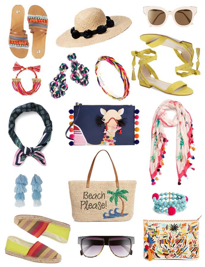 cute spring statement accessories