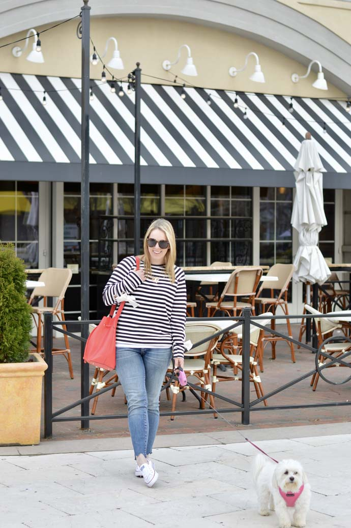 spring outfit ideas stripes