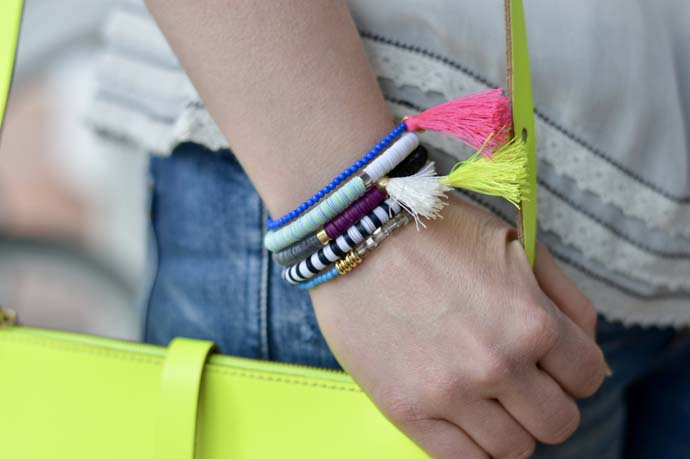 How to Wear Bright Accessories @rachmccarthy7