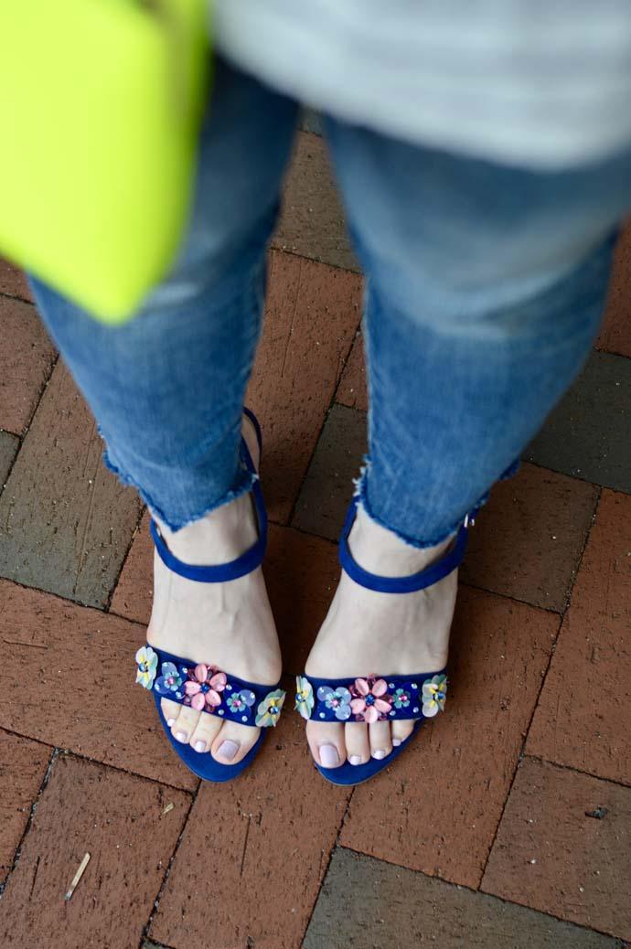 Embellished Sandals @rachmccarthy7