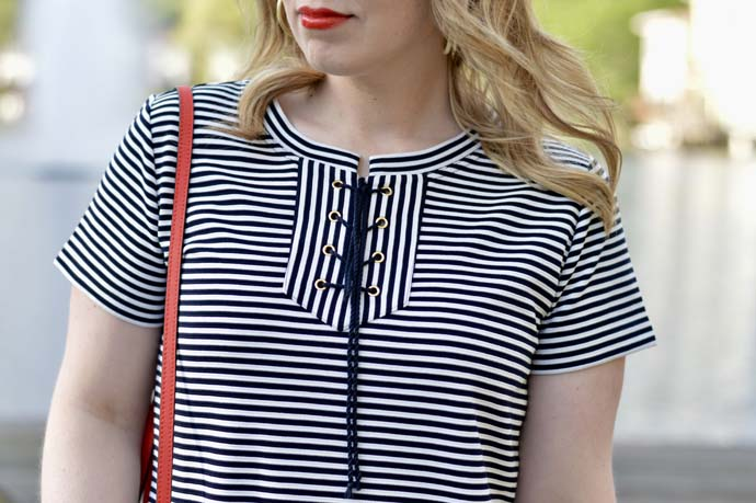 Lace-Up Spring Summer Dress