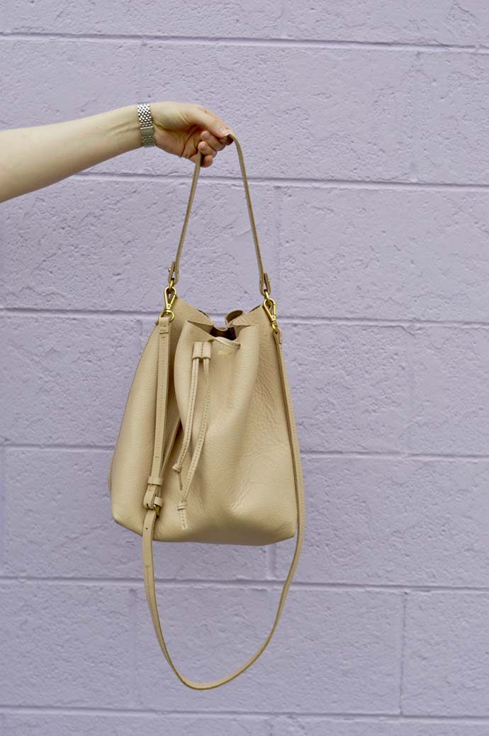 Blush Pink Bucket Bag @rachmccarthy7