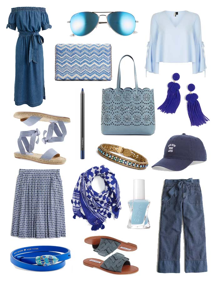 Blue Spring Outfit Inspiration @rachmccarthy7