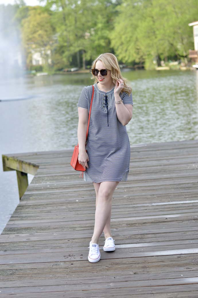 How to Wear a Striped Dress in the Summer
