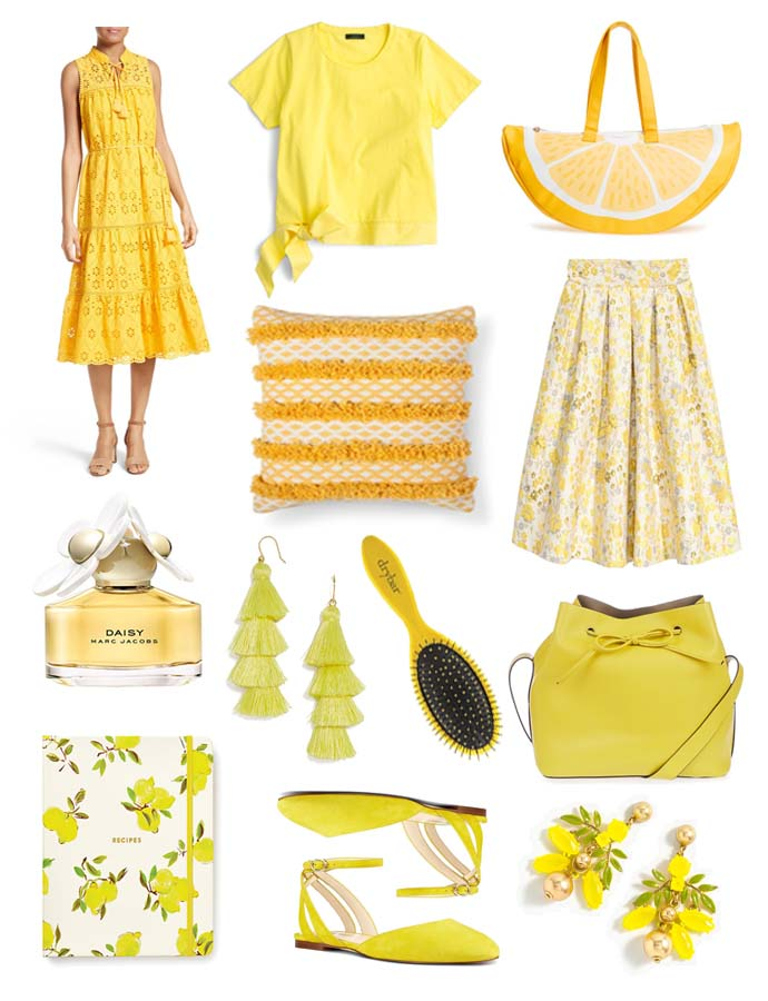 Spring and Summer Yellow Outfit Inspiration @rachmccarthy7