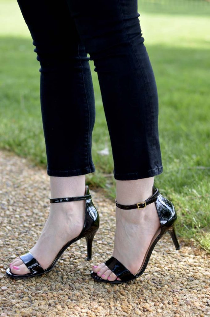 Cute Black Open Toe Sandals Nordstrom