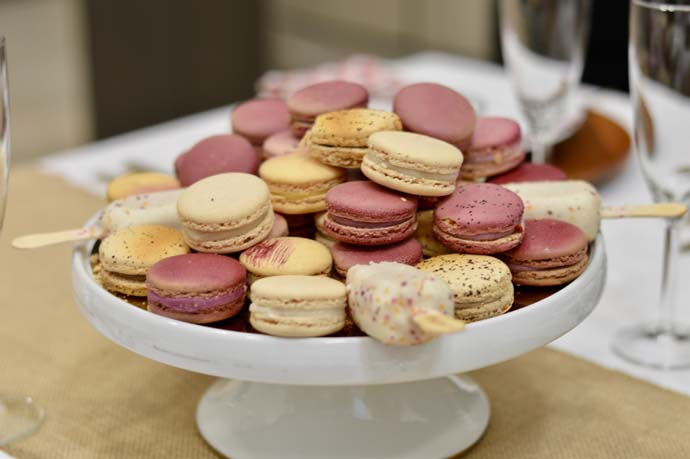 Dessert Plate with Macarons
