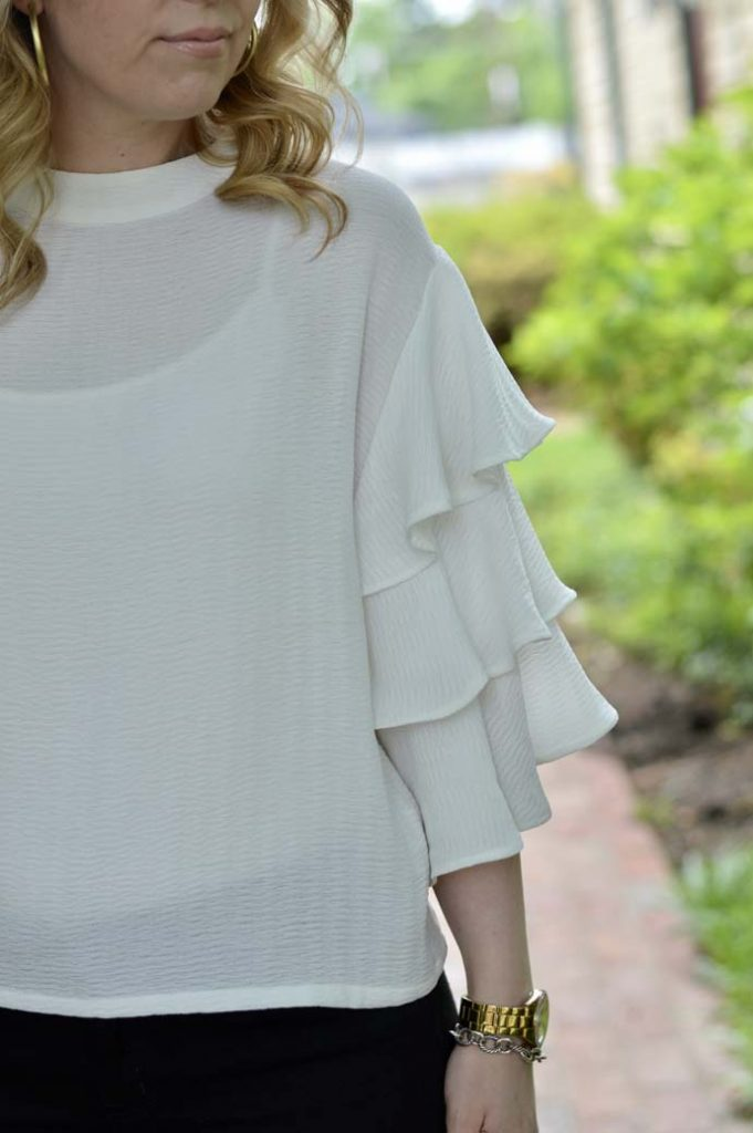 Ruffle Sleeve Top Shopbop