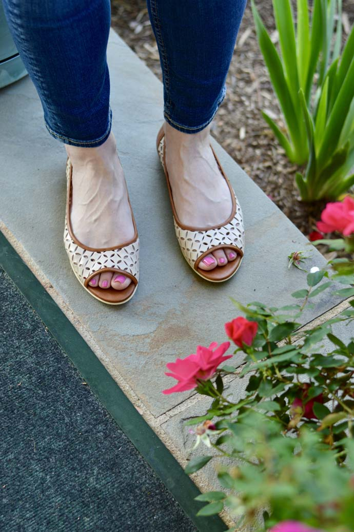 Cute French Sole Flats for Spring