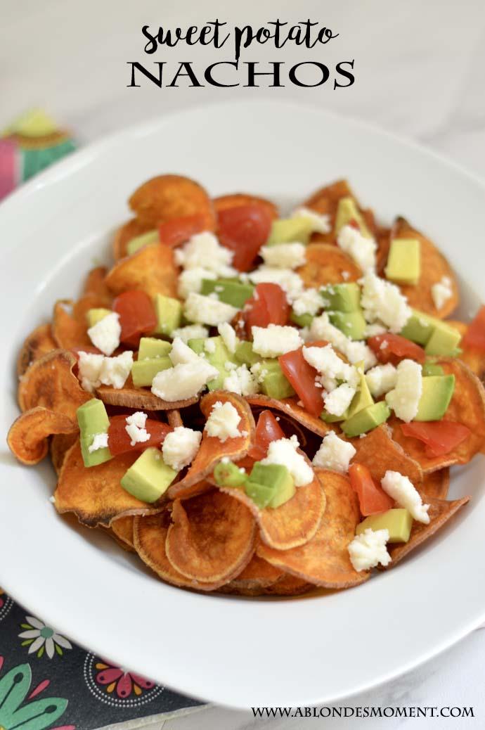 Sweet Potato Nachos Recipe @rachmccarthy7